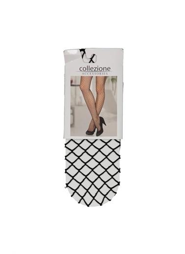 Collezione Collezione File  Kadın Çorap Siyah
